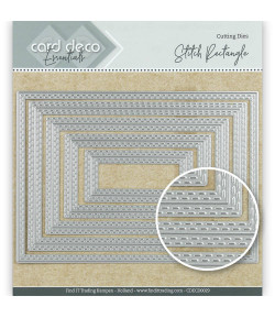 DIES RECTANGLE COUTURE - CDECD0029