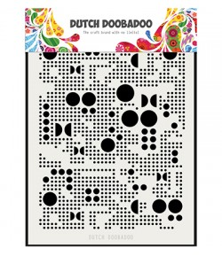 POCHOIR A5 RONDS - DUTCH DOOBADOO