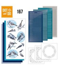 KIT 3D DOT OISEAUX DODO167