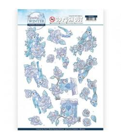 FEUILLE 3D WINTER - SB10404