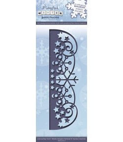 DIE SNOWFLAKES BORDER YCD10017