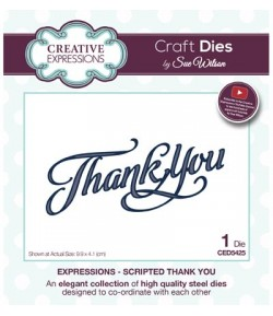 DIE THANK YOU - CED5425 - SUE WILSON