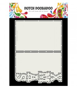 GABARIT XMAS CARD - DUTCH DOOBADOO (723)