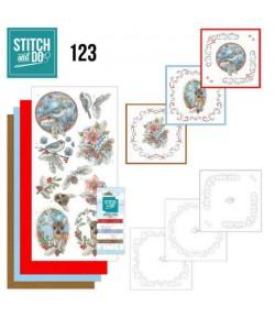 KIT 3D A BRODER ANIMAUX ET BAIES STDO123