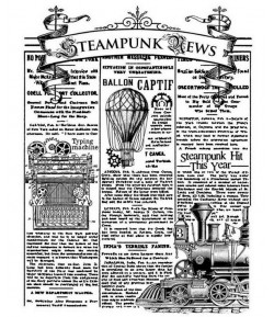 TAMPON HD MIXED MEDIA STEAMPUNK NEWS WTKAT08