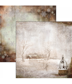 PAPIER WINTER IS THE TIME FOR HOME CIAO BELLA 30.5X30.5CM CBSS057