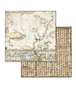 PAPIER HOUSE OF ROSES 30 X 30 CM - SBB678 STAMPERIA