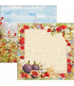 PAPIER SWEET COUNTRYSIDE  CIAO BELLA 30.5X30.5CM CBSS099
