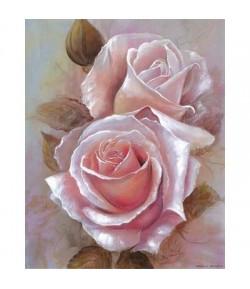 IMAGE 3D PORTRAIT DE ROSES