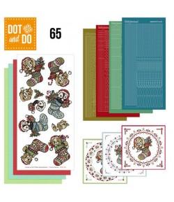 KIT 3D DOT AND DO CHAUSSETTES NOEL - 065