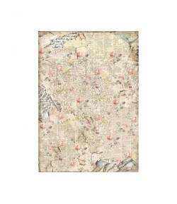 PAPIER DE RIZ SOUND OF ROSES A3 29.7 X 41.9 DFSA3056