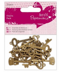 CHARMS CLEFS BRONZE