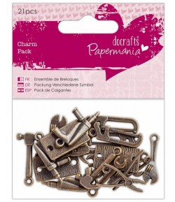 CHARMS OUTILS BRONZE