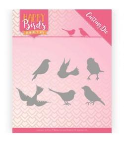 DIES HAPPY BIRDS - JAD10090