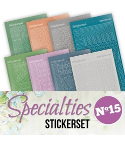 LOT 8 STICKERS SPECIALTIES - N°15