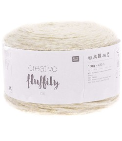 LAINE CREATIVE FLUFFILY DK MENTHE (007)