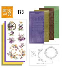 KIT 3D DOT OISEAUX DODO173