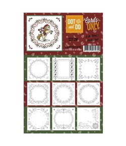 9 CARTES DOT AND DO SET024
