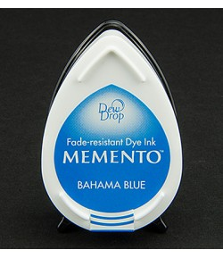 MINI-ENCREUR MEMENTO - BAHAMA BLUE - MD-601
