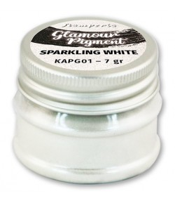 GLAMOUR POWDER PIGMENT SPARKLING WHITE 7G KAPG01