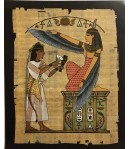 IMAGE 3D REINE EGYPTIENNE 24X30 OR04
