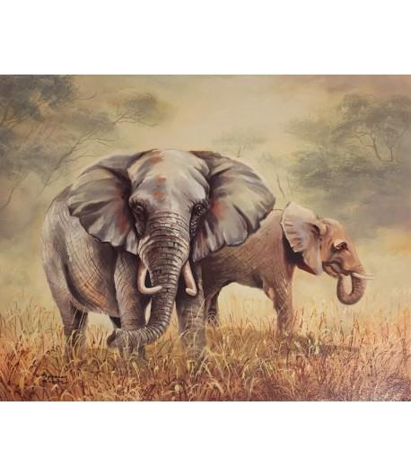 IMAGE 3D ELEPHANT - 24X30 0707131