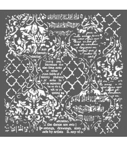 POCHOIR WALLPAPER MUSIC 30X30 EP 0.25 KSTDG01