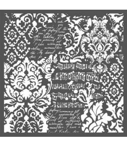 POCHOIR WALLPAPER FANTASY 30X30 EP 0.25 KSTDG03