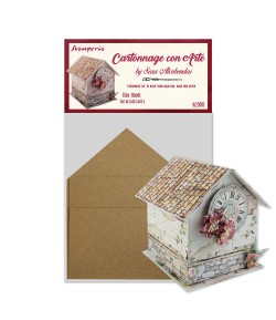 KIT CARTONNAGE BOX HOUSE KCS001 STAMPERIA