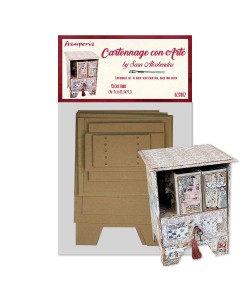 KIT CARTONNAGE SECRETAIRE KCS002 STAMPERIA