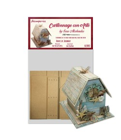 KIT CARTONNAGE HOUSE OF JOURNAL KCS003 STAMPERIA