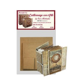 KIT CARTONNAGE ROYAL BOX AND BOOK KCS004 STAMPERIA