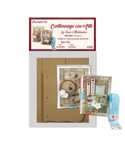 KIT CARTONNAGE SWEET BOX KCS005 STAMPERIA