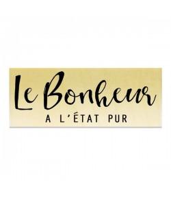 TAMPON BOIS - LE BONHEUR A L'ETAT PUR