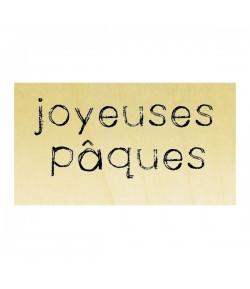 TAMPON BOIS - JOYEUSES PAQUES