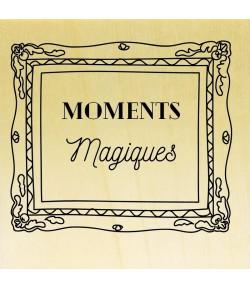 TAMPON BOIS - MOMENTS MAGIQUES