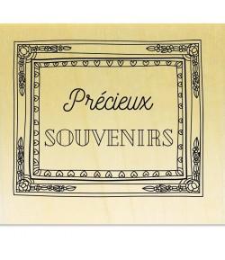 TAMPON BOIS - PRECIEUX SOUVENIRS