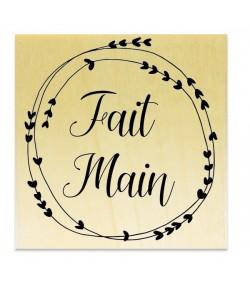 TAMPON BOIS - FAIT MAIN