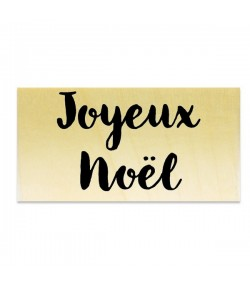 TAMPON BOIS - JOYEUX NOEL