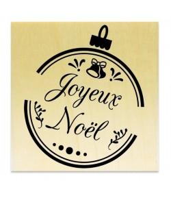 TAMPON BOIS - JOYEUX NOEL BOULE