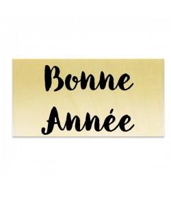TAMPON BOIS - BONNE ANNÉE