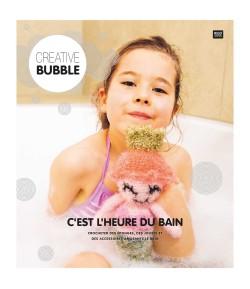 """LIVRET """"C'EST L'HEURE DU BAIN"""" CREATIVE BUBBLE"""