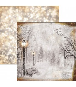 PAPIER THE FIRST FALL OF SNOW CIAO BELLA 30.5X30.5CM CBSS051