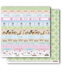 PAPIER KITTY CARDS - FURRY LITTLE STORY SCRAPBERRY'S