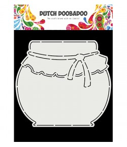 GABARIT POT DE CONFITURE  - DUTCH DOOBADOO (771)