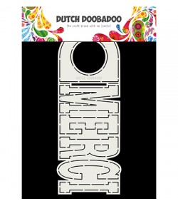 GABARIT MERCI CARD - DUTCH DOOBADOO (773)