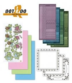 KIT 3D DOT GRENOUILLES - DODO012