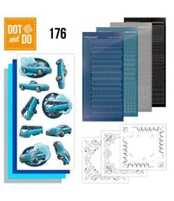 KIT 3D DOT VEHICULES BLEUS - 176