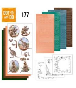 KIT 3D DOT ANIMAUX D AUSTRALIE - 177