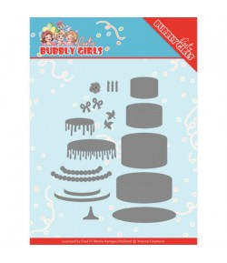 14 DIES PARTY BUBBLY GIRLS YCD10202